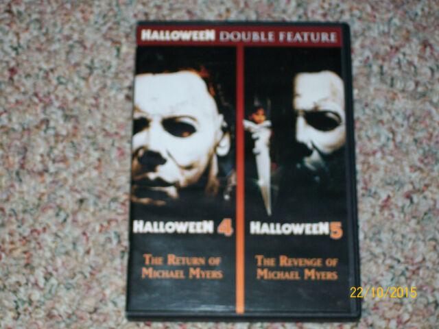 Halloween 4/Halloween 5 (DVD, 2013) DONALD PLEASANCE, DANIELLE HARRIS