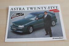 123463) Opel Irmscher Astra - Twenty-Five - Prospekt 05/1993