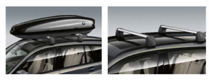 BMW GENUINE TRAVEL ROOF BARS AND BOX 420L