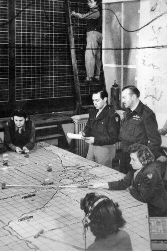 WW2 Centre de contrôle de la 9ème Air Force