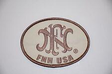 FNH FN PROMO PATCH TAN/FDE HOOK/LOOP FIVE SEVEN 5.7 X 28MM FNX FNS FNP BALLISTA!