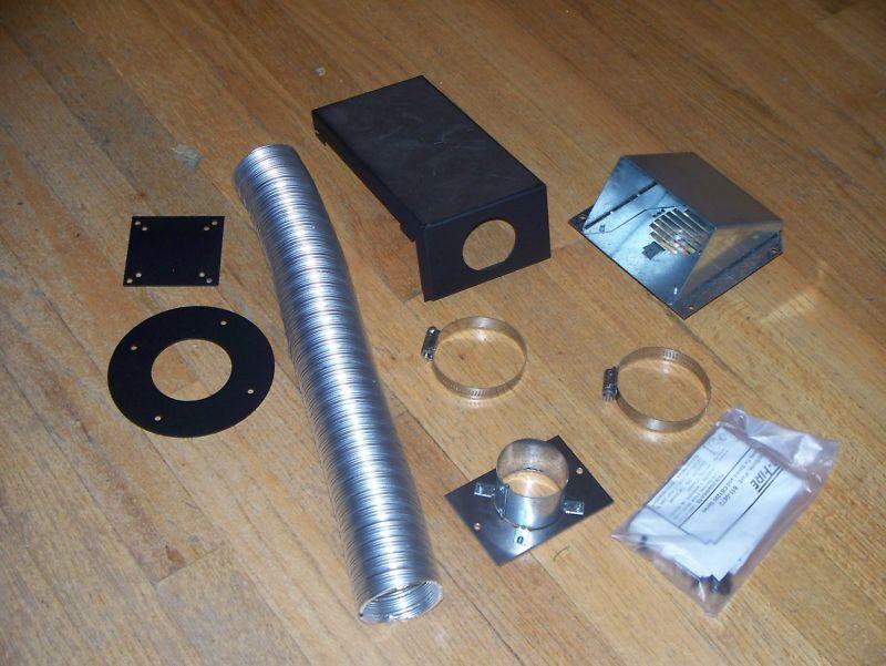 Heatilator eco-elección PS35 Pellet Stove Kit de aire exterior