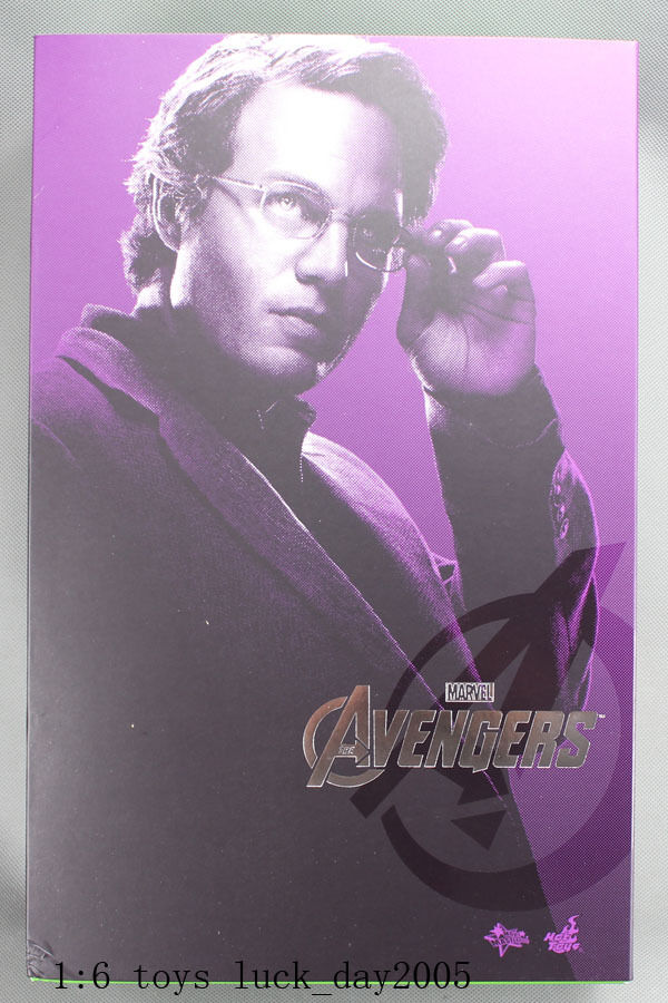 HOT TOYS The Avengers Bruce Banner Mark Ruffalo 1/6 Figure