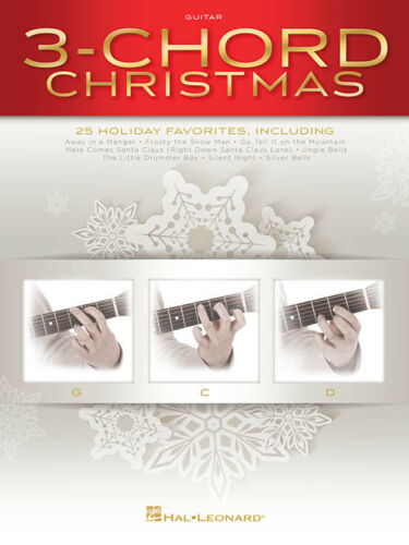 Guitar Collection Songbook 146973 3-Chord Christmas