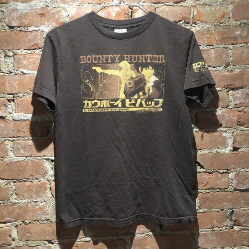 Vintage Cowboy Bebop Bounty Hunter Anime Shirt Siz