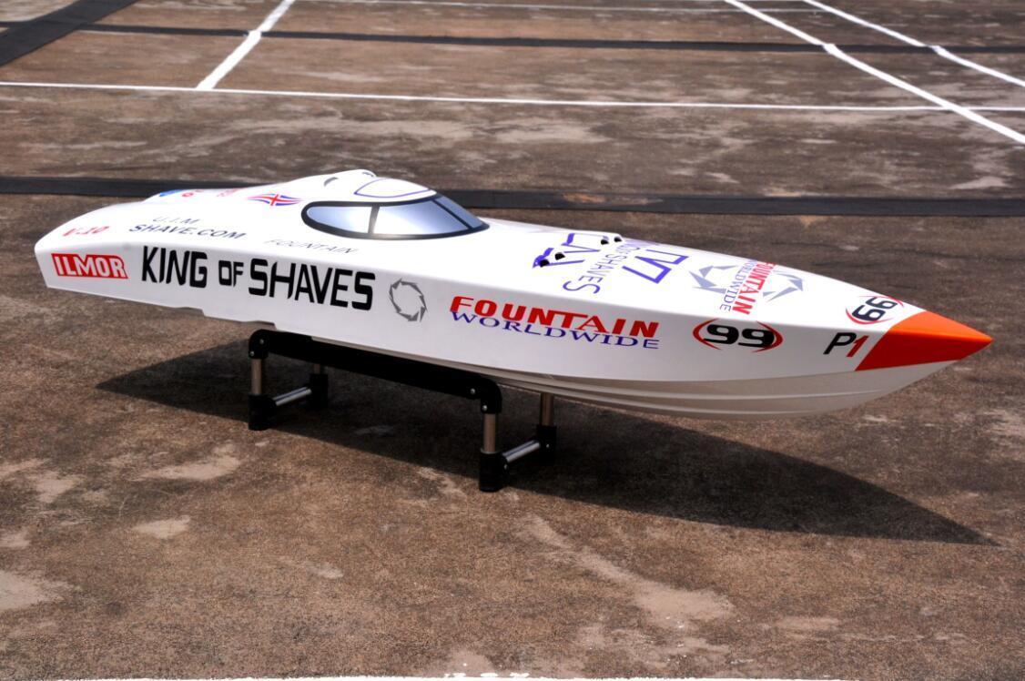 DT G26I P1 Fiber Fiber Fiber bicchiere bianca 26CC Engine Gas RC KIT Racing Speed Boat Bare Hull 5f573c