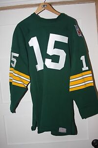 Bay Starr 52 Style About Football Jersey Vintage Sewn Size Details 1969 Bart Packers Green