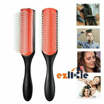 Details about  New Hair Styling Brush Denman Classic D3 Medium (9 row) Styling Hairbrush AU HOT