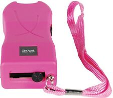 20 Mil Volt Runt Pink Flashlight Stun Gun Self Defense Security Camping Safety
