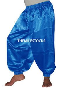 TMS Slit Harem Yoga Pant Belly Dance Trouser Hippy Pantalon 25 Color White