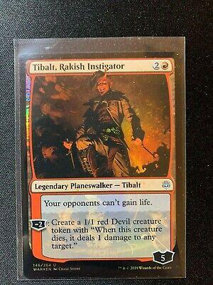 Tibalt rakish instigator War Of The Spark Mtg Card Mint Condition