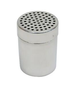 Icing Sugar Shaker KitchenCraft Stainless Steel Medium-Hole Flour Dredger