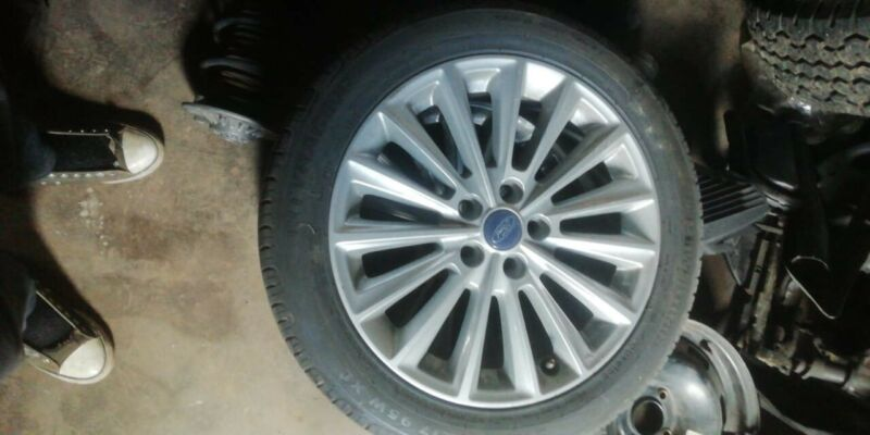 """Set of 17"""" Ford Rims"""