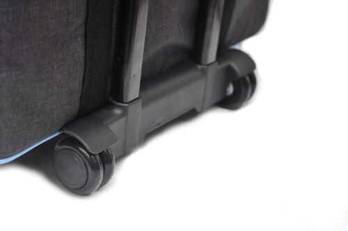 Foolsgold Pro grueso acolchado bolso de la carretilla de máquina de coser sobre ruedas Funda de transporte