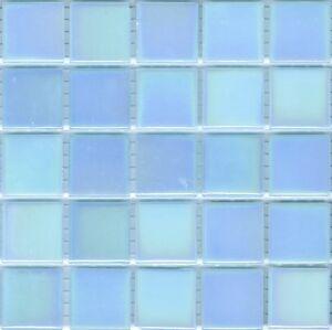 Image Is Loading 25pcs Bisazza Gloss Pearl Gl 07 Light Blue