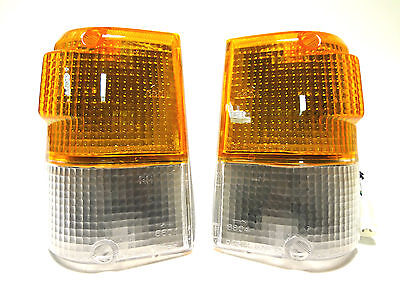 MITSUBISHI Pajero Montero 1983-1991 turn signal blinker lights set (Left Right)