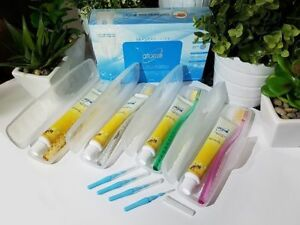 4-SETS-of-Atomy-Oral-Care-System-Toothbrush-Toothpaste-Interdental-Brush-NEW