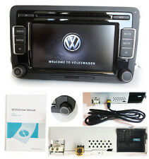 Car Audio Radio VW RCD510+USB AUX SD CD MP3 Golf Passat Tiguan Touran EOS w.CODE