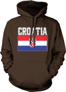 de Hr de la Font de bandera Colores con sudadera Croacia Hrv capucha País Fútbol Croacia PCSqwBxv