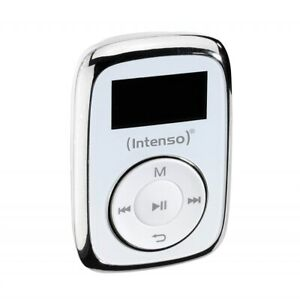 Intenso-Music-Mover-8GB-weis-MP3-Player-Musikplayer-Micro-SD-Karten-Slot-Musik