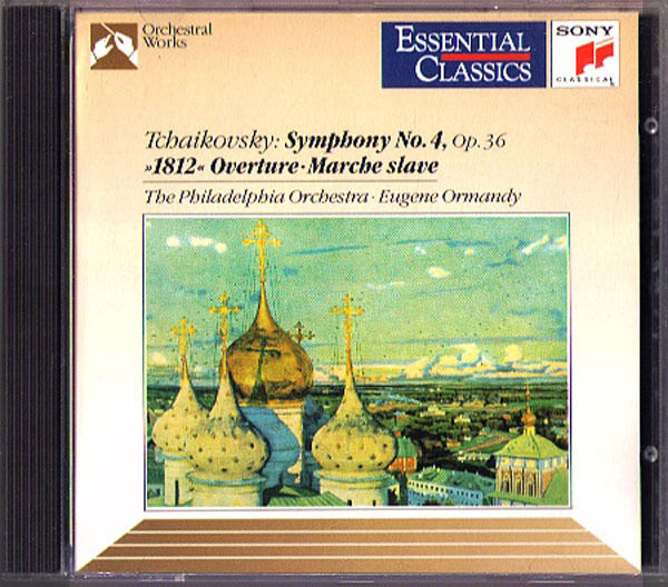 EUGENE ORMANDY: Tchaïkovski Symphony No. 4 MARCHE ESCLAVE 1812 Overture CD Symphonie