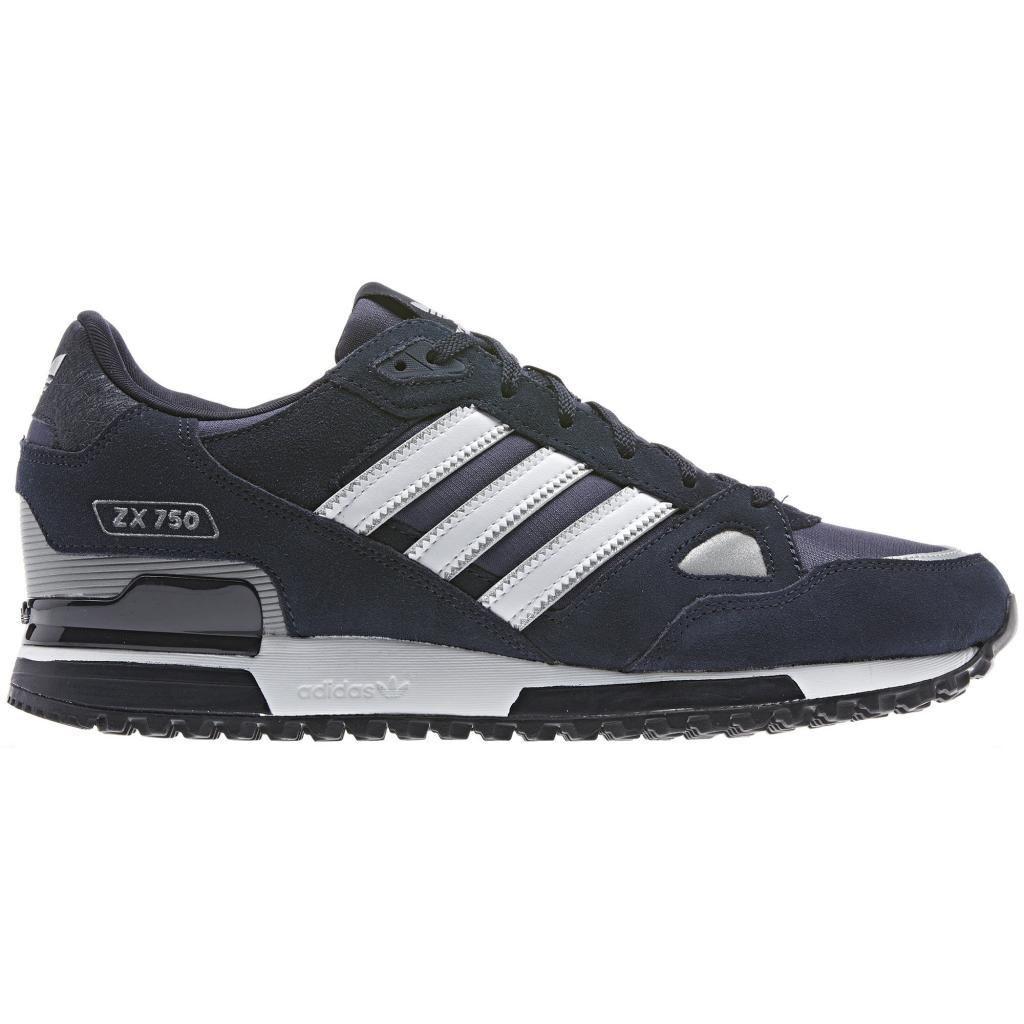 Adidas Originals Zx 750 Hausschuhe Running Hombre Blau Marino Retro Caminar