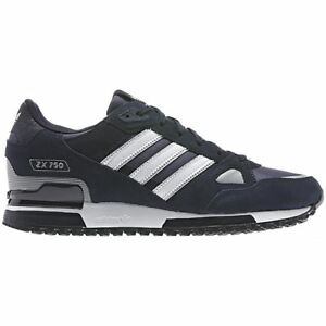 7a3f8e15f ADIDAS ORIGINALS ZX 750 MENS RUNNING TRAINERS NAVY SNEAKERS SHOES ...