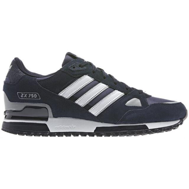 buy online 3d92c 56ad9 Adidas Originals Zx 750 Chaussure de Course pour Homme Marine Baskets Rétro