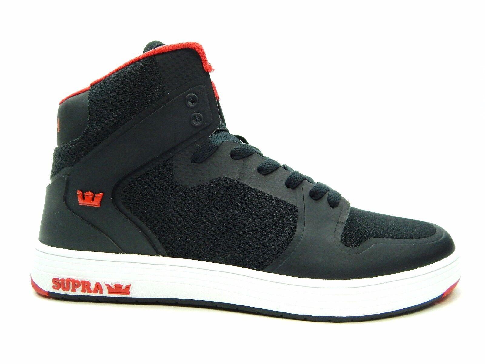 SUPRA VAIDER VAIDER VAIDER 2.0 nero rosso 08042-004-M Uomo scarpe a4401a