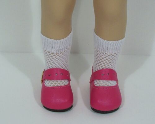 "DK PINK Splendid Doll Shoes For 13/"" Sylvia Natterer Minouche Petitcollin Debs"