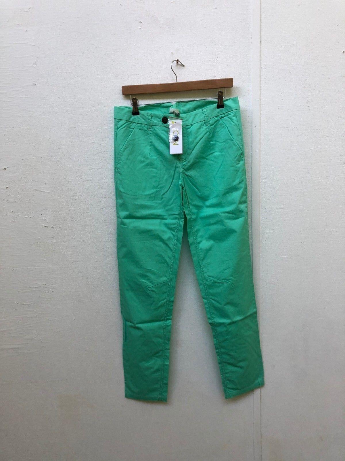 Pantalon Chino adidas NEO pour Femme - W30 L32 - Vert menthe - Nouveau