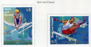 19416-UNITED-NATIONS-Vienna-1996-MNH-Nuovi-Modern-Sports