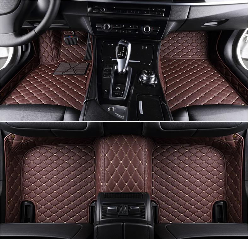 Car Floor Mats Front Rear Liner Waterproof Auto Mat For BMW F16 E71 X6 2008-2017