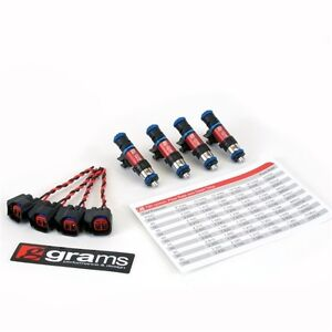 Details about GRAMS 750CC FUEL INJECTOR SET FOR 95-07 MITSUBISHI 4G63T EVO  3-9/ECLIPSE TURBO