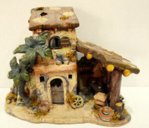 Bethlehem-Village-House-Porcelain-2002-Nativity-Replacement-Grandeur-Noel