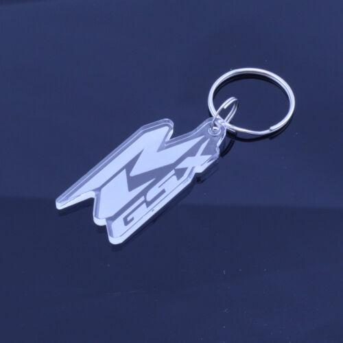 Fatto a Mano Taglio Laser Suzuki Auto Moto /& Gsxr Distintivo Portachiavi