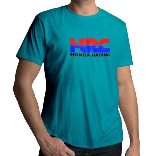 Honda Racing Corporation HRC Motorcycle MotoGP Mens Unisex Crew Neck Tee T-Shirt