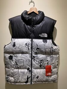5c93d3180f88 New  179 The North Face TNF Men s Lrg Novelty Nuptse Catalogue ...