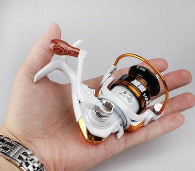 Mini Micro Camping Fishing Tool Kleines Rad Spinning Fishing Reel with Line