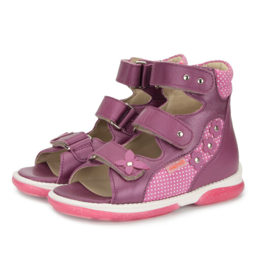 Memo AGNES Girls/' Corrective Orthopedic Ankle Support Sandals Toddler//Little Kid