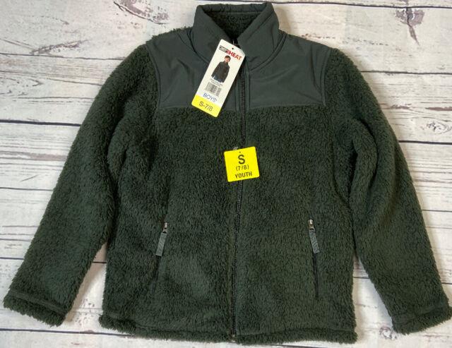 32 Degrees Heat Women/'s Plush Faux Fur Full Zip Mock Neck Jacket SZ//CLR VARIETY!
