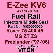 KV6 Fuel Injector MIDDLE Seals VITON O-Rings Rover 75 400 45 MG ZT Freelander