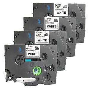 4-New-Label-Tape-for-Brother-PT-1010-1090-1120-1130-11Q-1280-SR-1290-BT-9800PCN