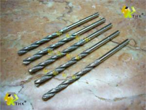5-Stueck-3mm-Neu-THK-Diamant-Spiralbohrer-Bohrkrone-Stein-Handwerk-Marmor-Schmuck