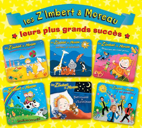 LES Z'IMBERT & MOREAU - LEURS PLUS GRANDS SUCCES (CD DIGIPACK NEUF)