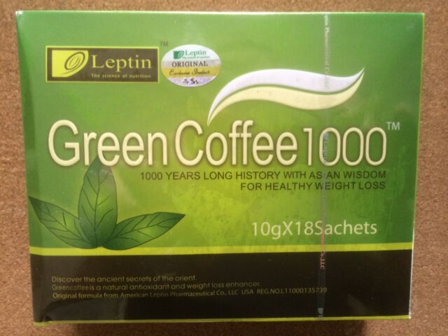 LEPTIN GREEN COFFEE 1000 SLIMMING DIET APPROVED SUPPLIER - BEWARE OF FAKES