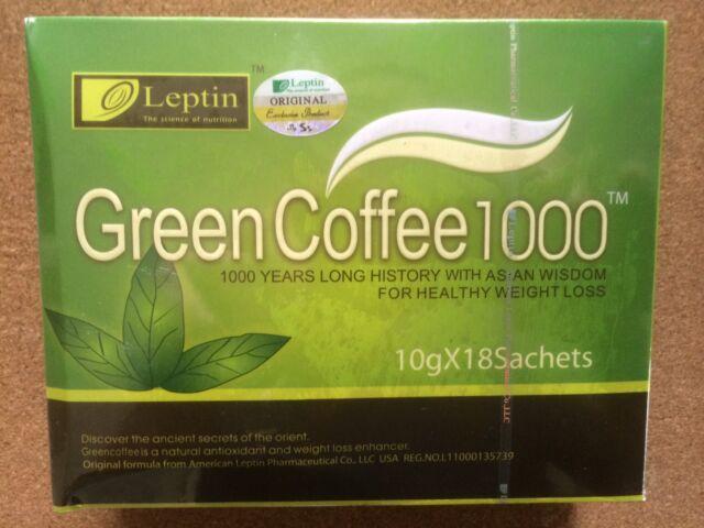 leptin green coffee 1000 ingredients