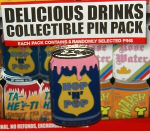 Delicious Drinks Soda Cans Mystery Hop N Pop Disney Pin