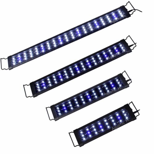 "0.5W LED Light 18""/24""/30""/36""/48"" Aquarium Marine FOWLR Blue & White"