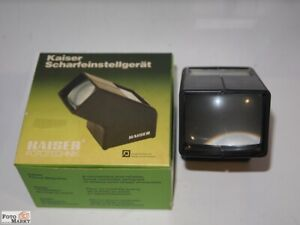 Kaiser 4005 Scharfeinstellgerät Focuscop Enlarging Focus Magnifier (IN Conf)